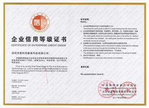 企业信用等级证书(AAA)